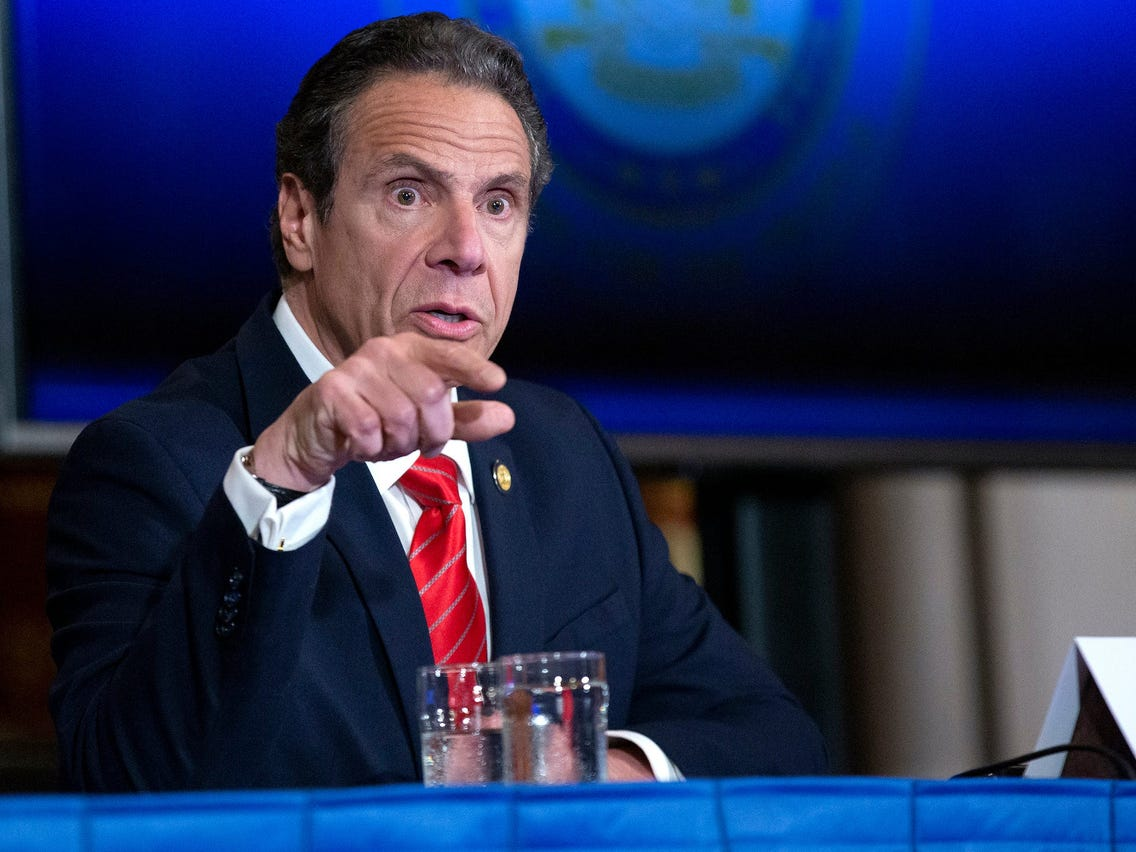 Cuomo sex harass accuser says gov's office called her on honeymoon in bid to lessen fallout
