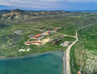 Where is Kanye West staying after his divorce from Kim Kardashian? Check out his house, or shall we say houses, in beautiful Wyoming and their amenities.