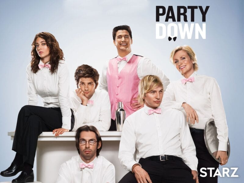 "'Party Down' is back! The revival is officially a ""Ron Donald Do"" at Starz and the original cast and producers are all coming back. Get your bow tie ready!"