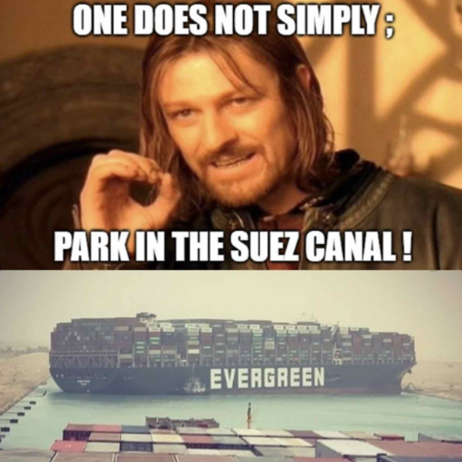 The Ever Given is stuck: Laugh along with these Suez Canal crisis memes –  Film Daily