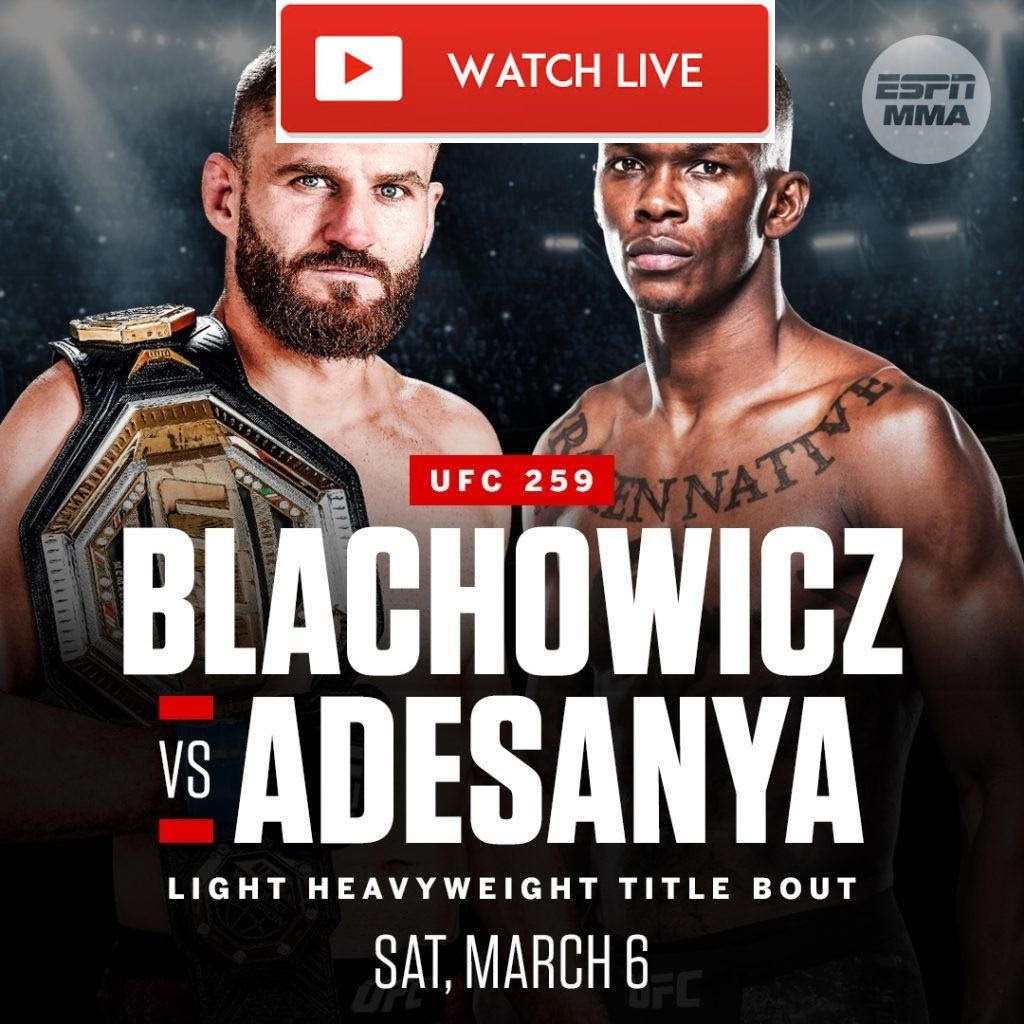 Watch the MMA UFC fight 259 for free without the hassle. Check out our tips to live stream the fights from anywhere in the world!
