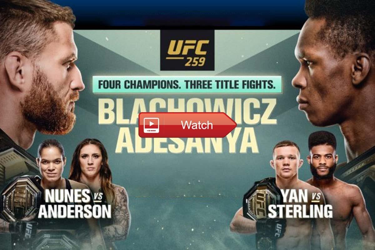 Don't miss MMA UFC 259 and all the fights! Live stream these highly anticipated matches from anywhere in the world with these tips.
