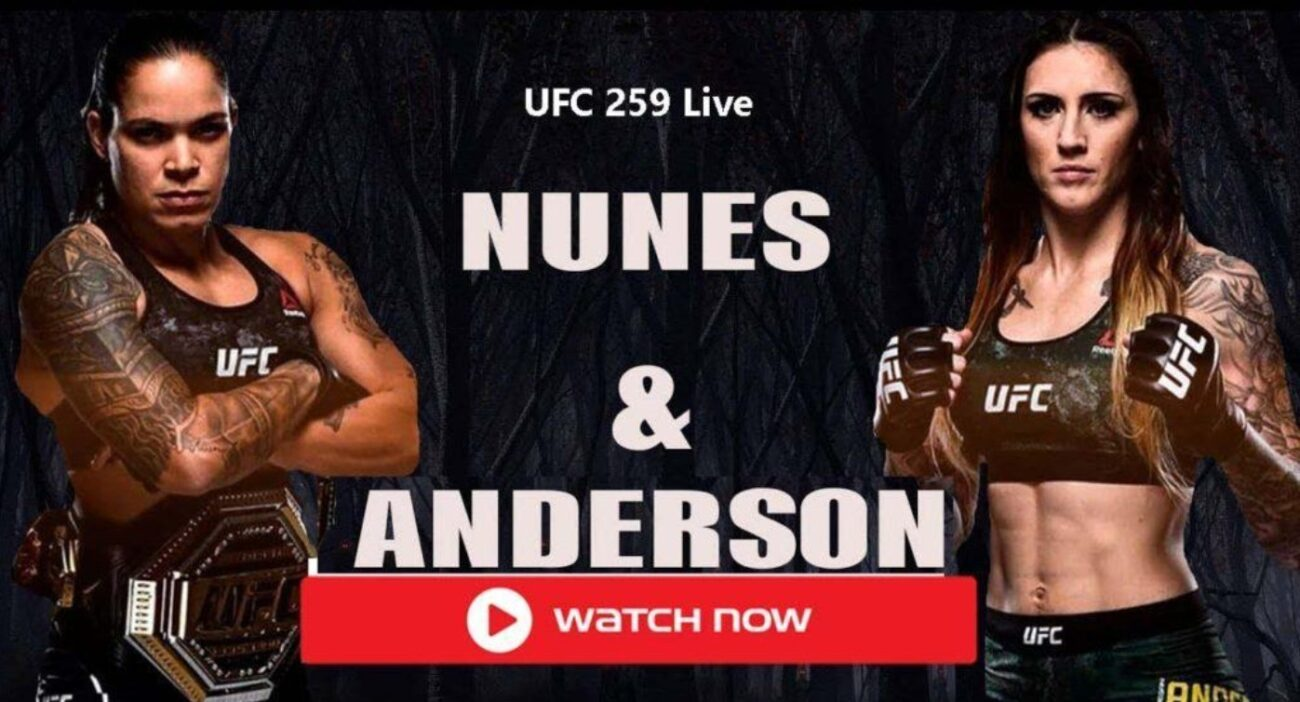 Nunes is gearing up to face Anderson for UFC 259. Find out how to live stream the match online for free.