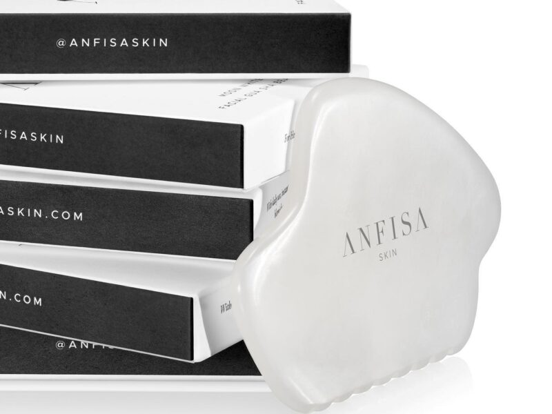 Take a look at many of the benefits of the Anfisa Moon White Jade Gua Sha Beauty Tool and how it can rejuvenate your skin.