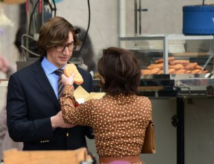 Why is Lady Gaga feeding Adam Driver on the set of their upcoming Gucci movie? Find out all the behind the scene details happening on set here.