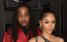 Quavo & Saweetie's break-up has been trending news, but did the rapper attack his former girlfriend? Watch the disturbing video that's leaked here.