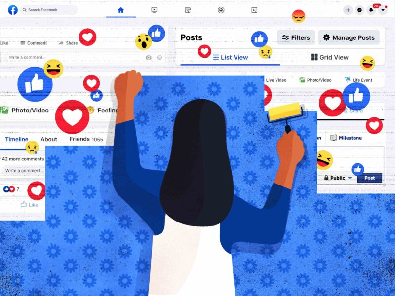 Facebook has lots of fun options. Check out some creative ways to design your Facebook post.
