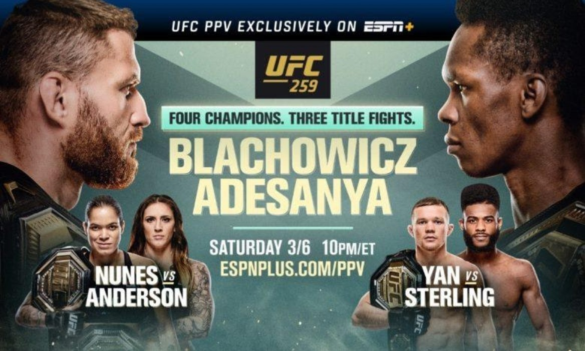 UFC 259 is here at last. Discover how to live stream the huge MMA event on Reddit for free.