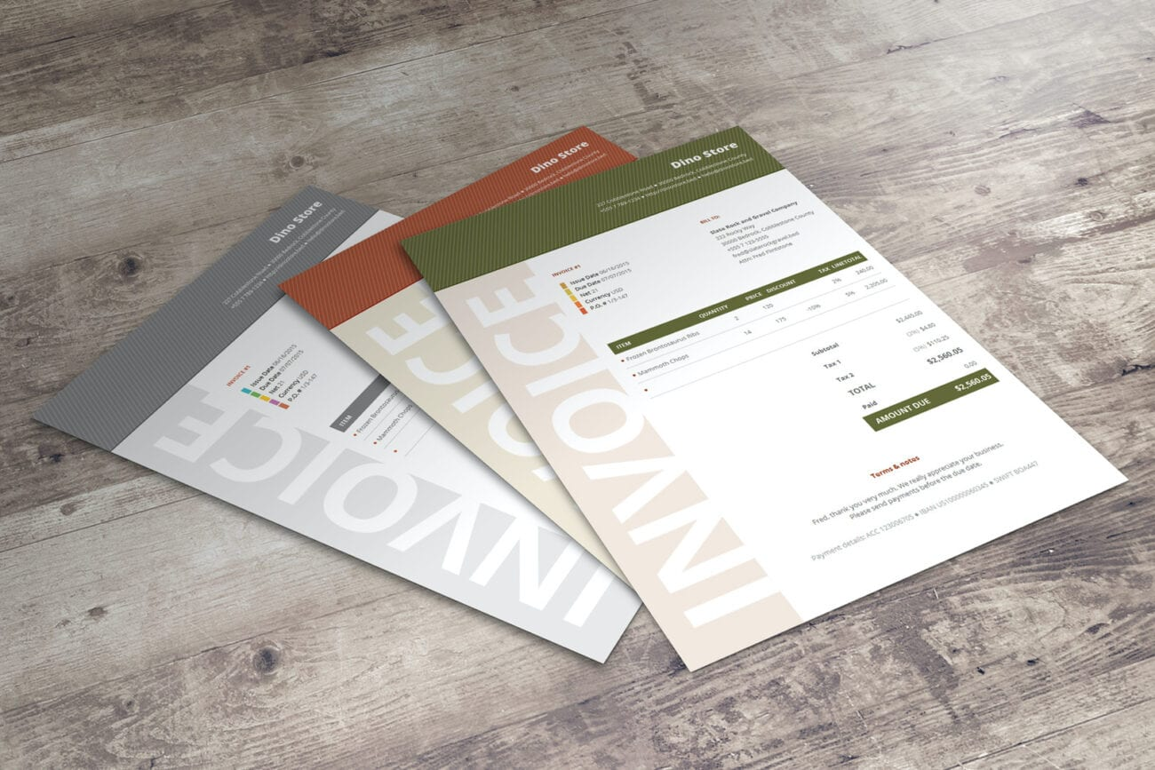 Looking for a way to create sample invoices more conveniently? Take a look at some sample invoice templates that can help you create invoices faster.