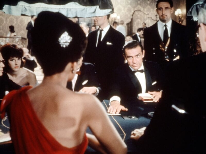 James Bond has had lots of iconic casino scenes. Here's a breakdown of some of the best casino scenes in Bond history.