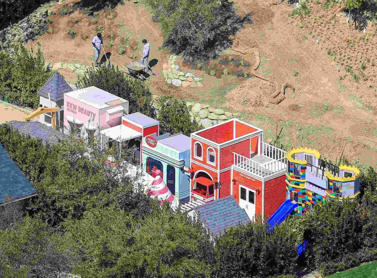 Spoiled much? Take a tour of the luxuries Kim Kardashian's children get to enjoy in the Kardashian house of wonder.