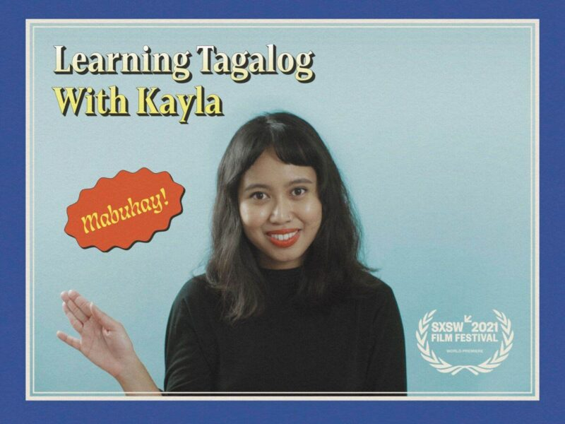 Do you want to learn Tagalog? The Filipino language has come to your screens in the most entertaining way. Here's what Kayla Abuda Galang has to say!