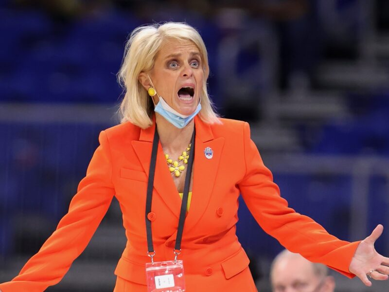 "Baylor women's head coach Kim Mulkey calls for the NCAA to stop COVID testing ahead of the Final Four. Could this be the ""madness"" in March Madness?"