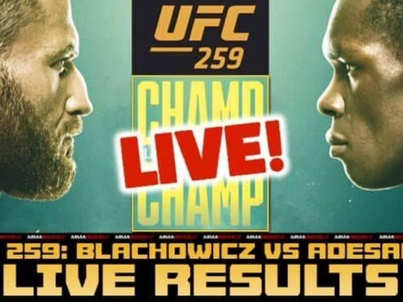 Adesanya is ready to take on Blachowicz in the ring. Find out how to live stream UFC 259 online for free.