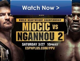 A rematch between heavyweight G.O.A.T. Miocic and knockout artist Ngannou seemed inevitable. Watch the MMA Reddit live stream here.