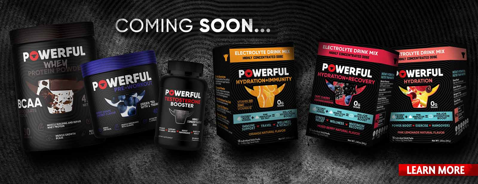 Powerful Nutrition has a new supplement coming out any man could use to help keep them fit and healthy. Here's why you need to try it.