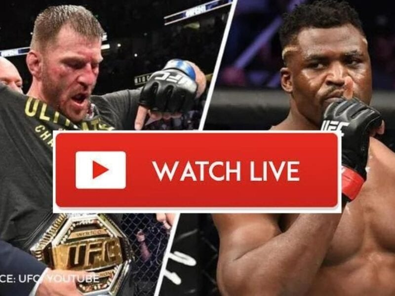 Miocic is ready to face Ngannou in the ring. Discover how to live stream the UFC 260 match online for free.
