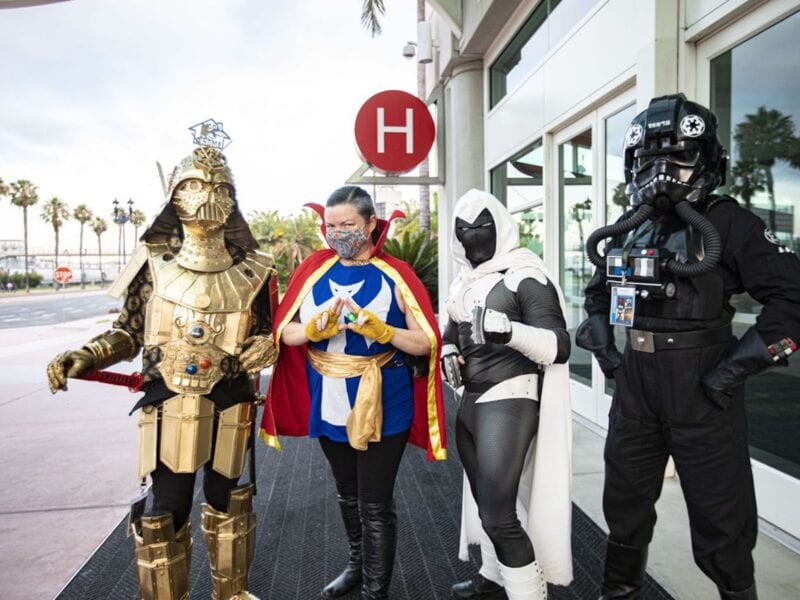 San Diego Comic-Con will hold an in-person event over Thanksgiving weekend. Read on to learn why people think this is a bad idea.