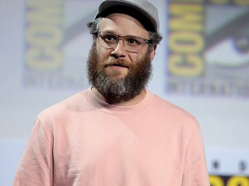 Seth Rogen has found a way to turn his pleasure into business, and let's just say it's getting rolled out in the U.S. next week! Goodbye, movies... for now.