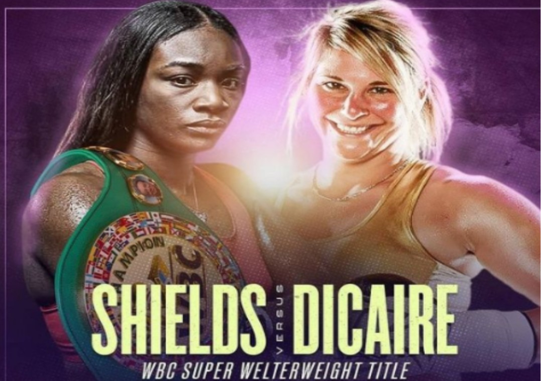 Shields is gearing up to face Dicaire in the boxing ring. Find out how to live stream the anticipated fight online for free.