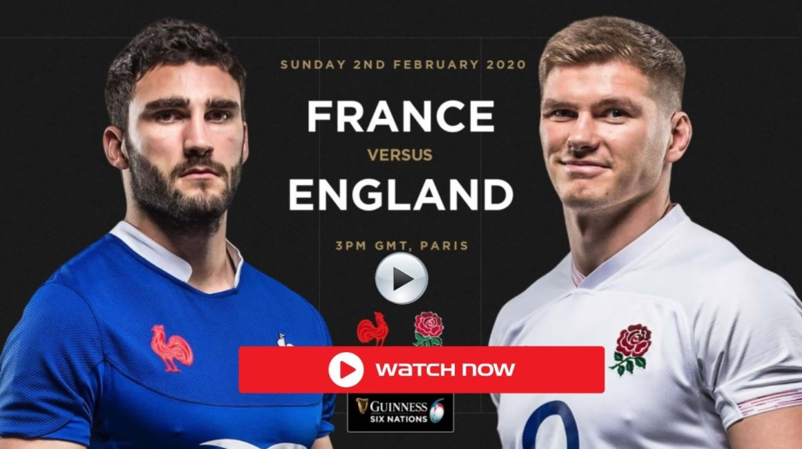 England is gearing up to face France on the rugby field. Find out how to live stream the sporting event online.