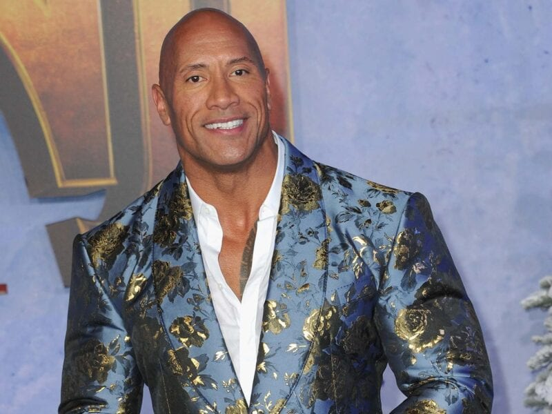 Dwayne the Rock Johnson exposed his pain, and parts of his body, in a series of posts on Instagram. Check it out.