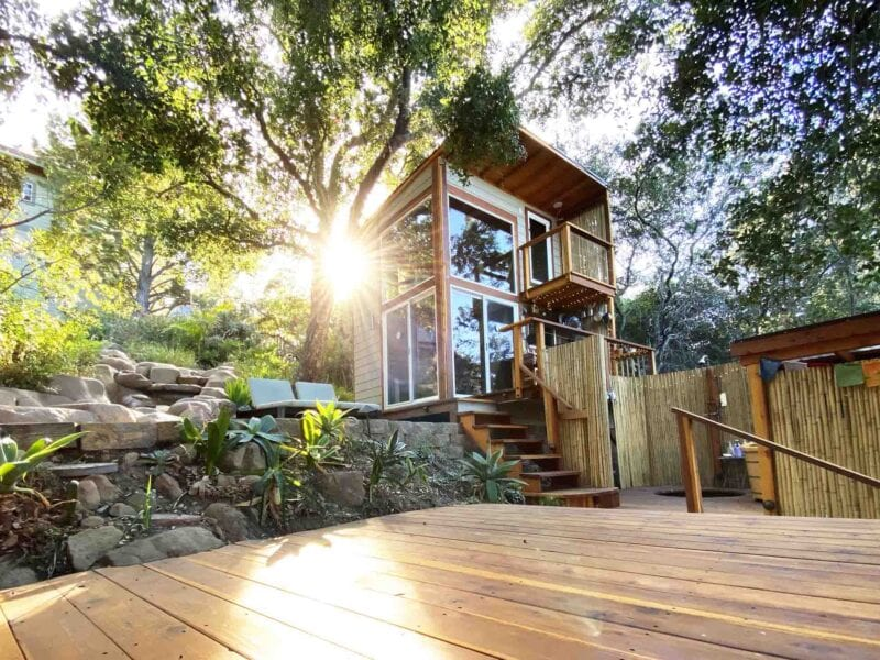 Looks like tiny houses are the wave of the future. Are you ready? Check out these deluxe tiny house rentals and decide for yourself.