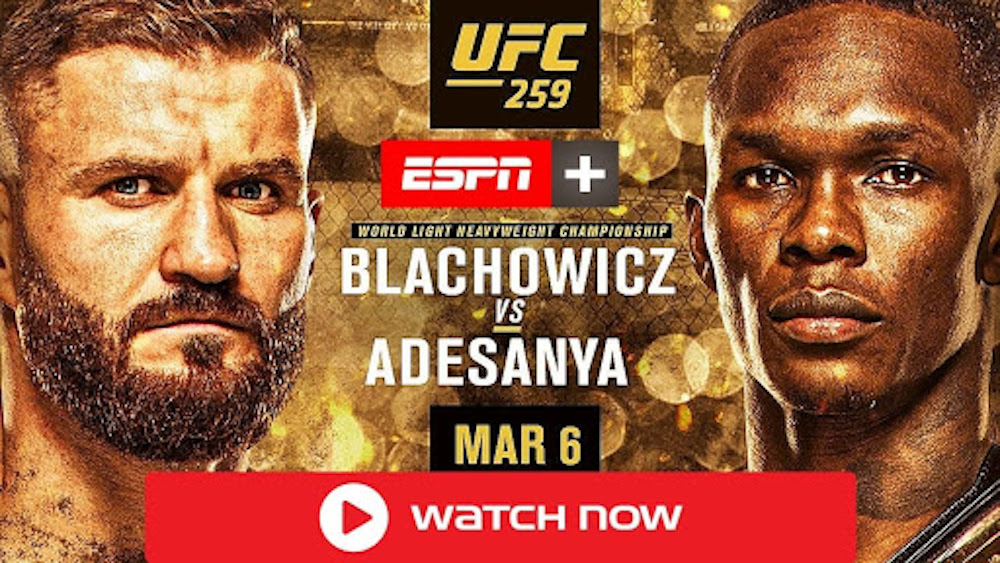 You can only live-stream UFC 259 on certain official channels if you are a local resident. Here's how you can watch the event anywhere in the world.