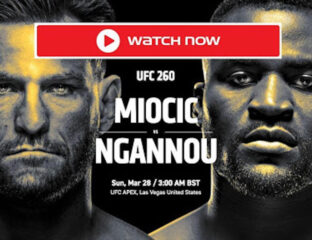 BT Sport has exclusive broadcast rights to UFC events right now. Here's how you can live stream the boxing event now.