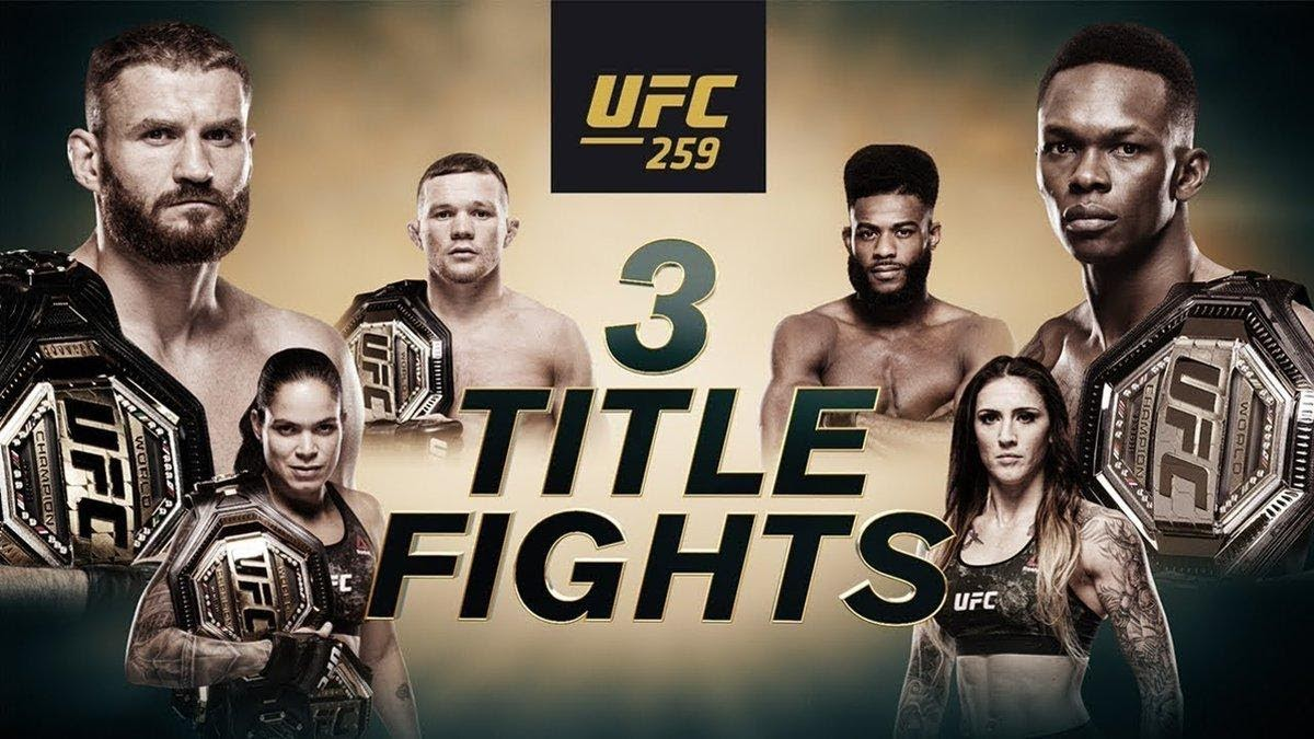 Ultimate Fighting Championship (UFC) is inching closer to its UFC 259 pay-per-view (PPV) event. Watch the Reddit live stream now.