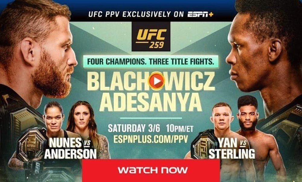 The countdown for the biggest battle is almost close to over. Here's how you can live stream UFC 259 on Reddit now.