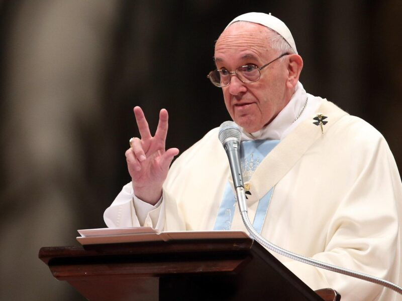 Did Pope Francis take back his statement about same-sex marriage? The Vatican announced that they are not on board. Here's what the Church announced.