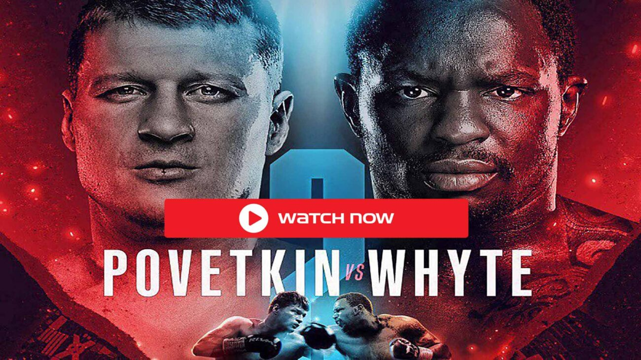 Whyte is gearing up to face Povetkin in the ring. Discover how to live stream the boxing match online for free.