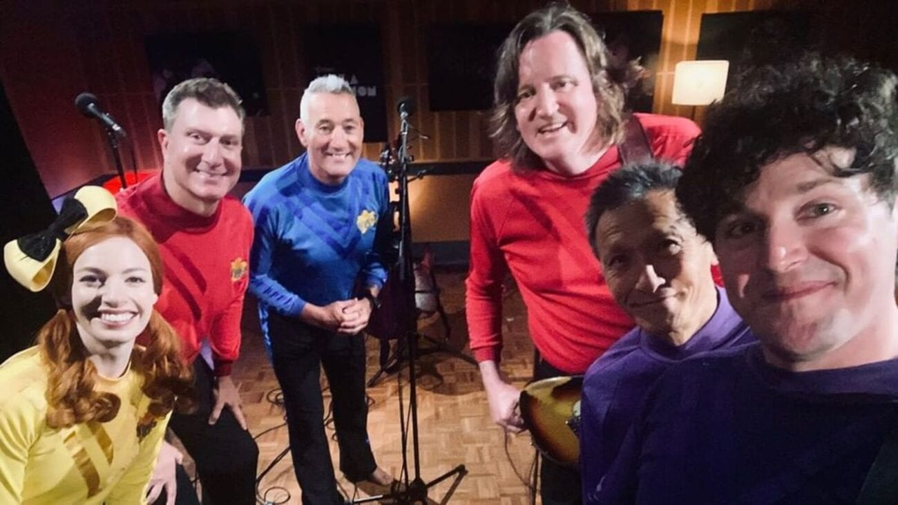 "Get ready for the nostalgia. The original Wiggles got together to mash up their hit single ""Fruit Salad"" with some indie rock. Hear it for yourself here."