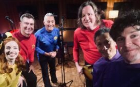 Get ready for the nostalgia. The original Wiggles got together to mash up their hit single