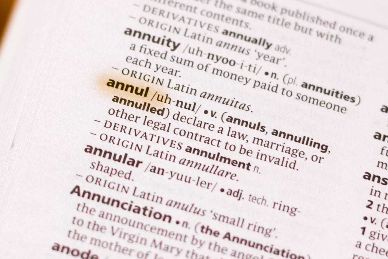 Should you get a divorce or annulment? Learn about the legal grounds for getting an annulment and find ways to make this painful process a little easier.