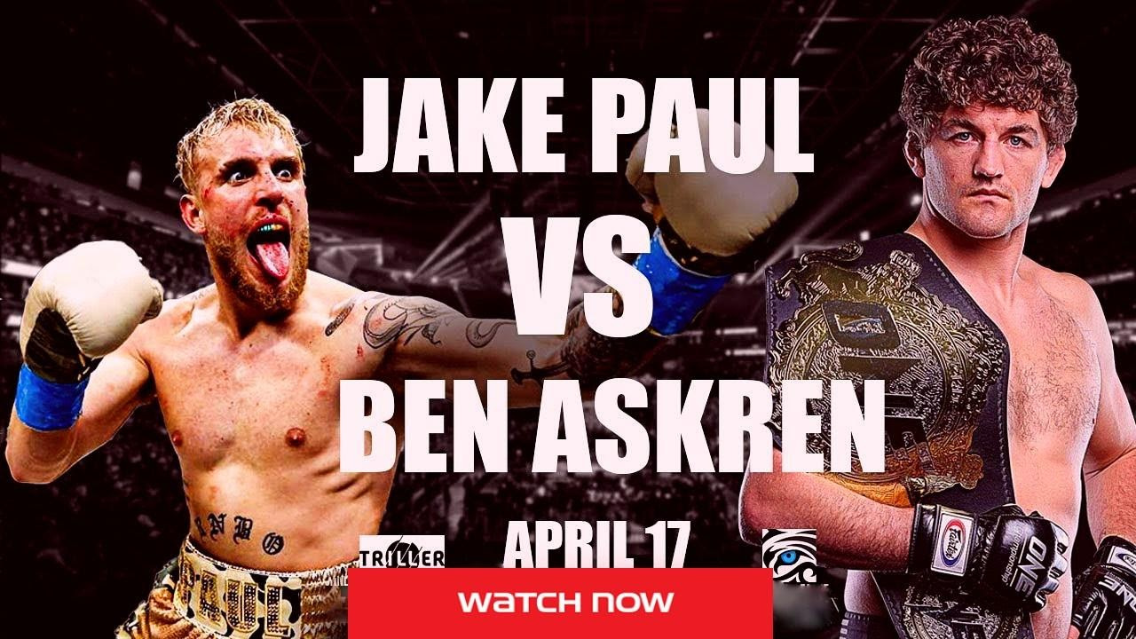 Don't miss the big matchup between Jake Paul vs Ben Askren tonight! Watch the match from anywhere in the world right here, right now!