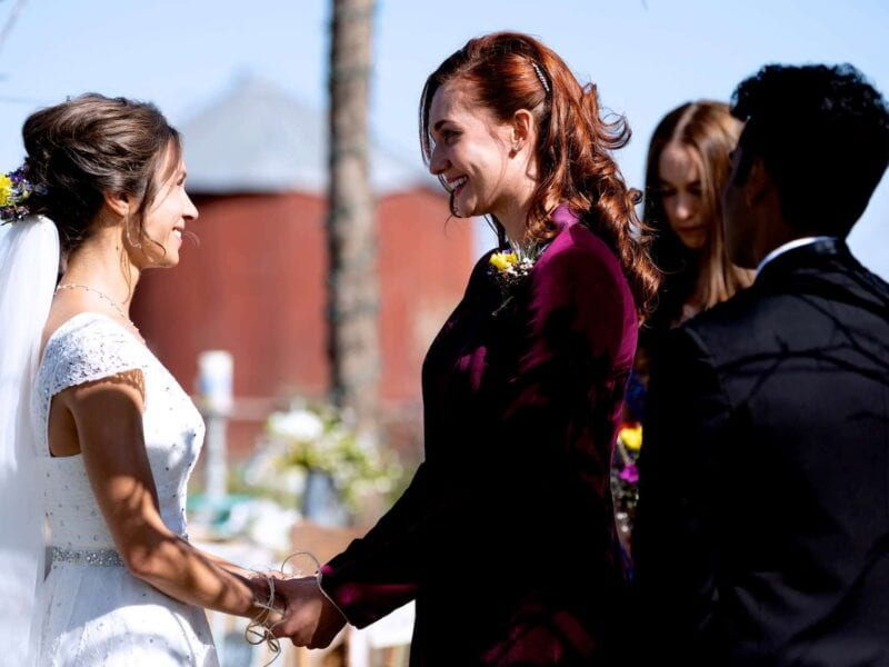 What better way to finish 'Wynonna Earp' than by celebrating the love of its two main gay characters? Join the wedding party at the end of season 4!