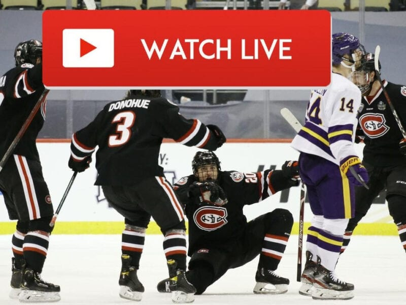 Don't miss the epic, exciting matchup between UMass and St. Cloud State! Tune into the big college hockey game no matter where you are.
