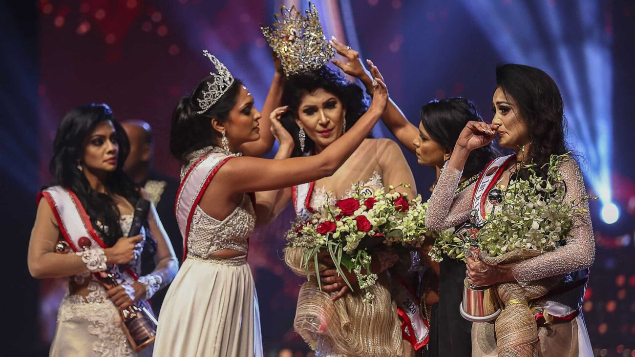 Crown-snatching amidst a coronation? Is this the Sri Lanka version of 'Game of Thrones'? Clutch your pearls and find out how Mrs. World got arrested!