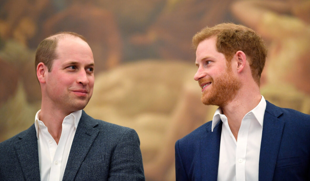 Since Prince William and Prince Harry were spotted talking to each other last weekend, we're still wondering: did they make nice? Find out here.