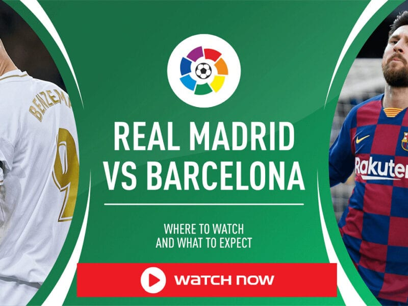 Don't miss the soccer match of the year! Stream El Clasico from anywhere in the world with these free, helpful tips right now!