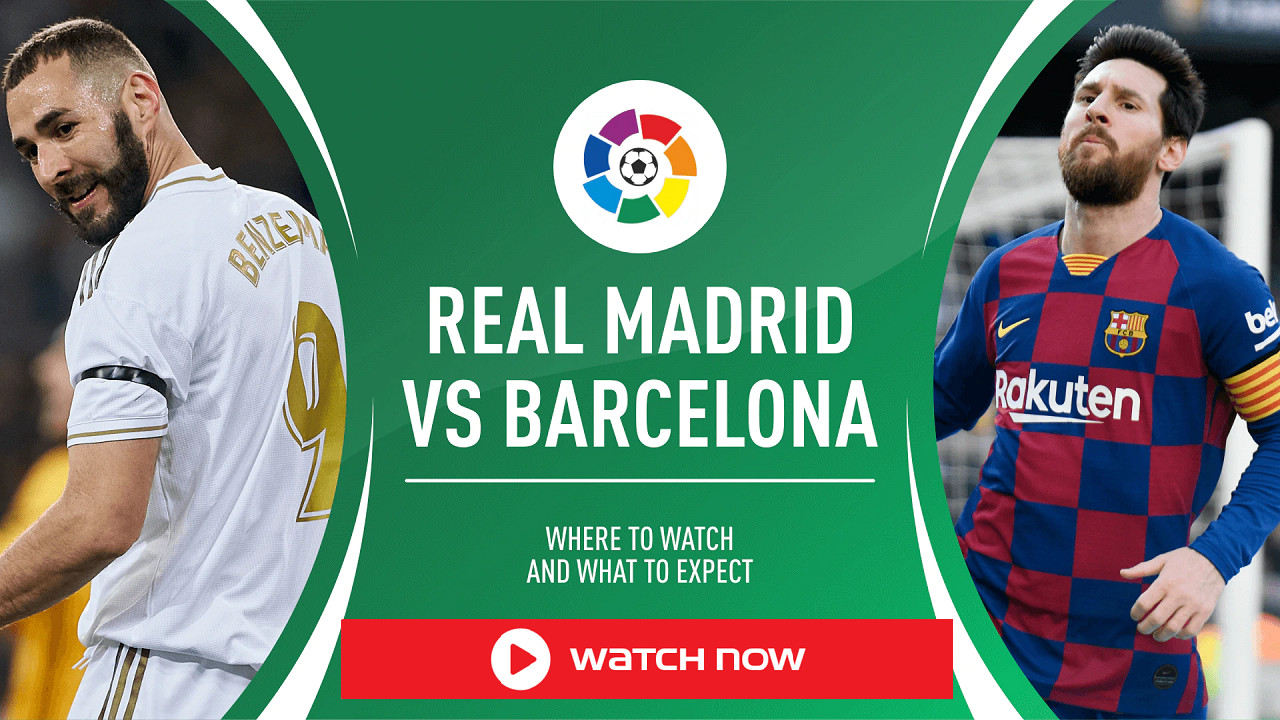 El Clasico is on! don't miss the iconic Barcelona vs Madrid soccer game this year. Stream it from anywhere in the world with these helpful tips!
