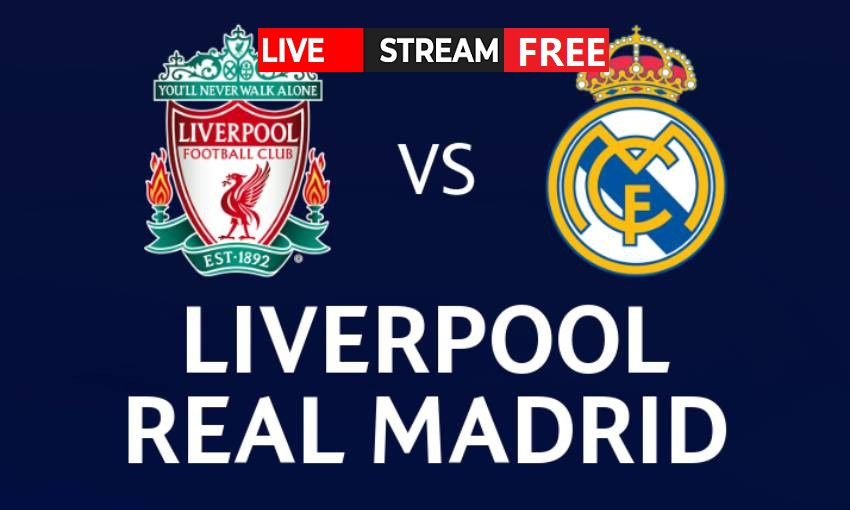 Liverpool is set to face Real Madrid on the pitch. Find out how to live stream the UEFA match online for free.