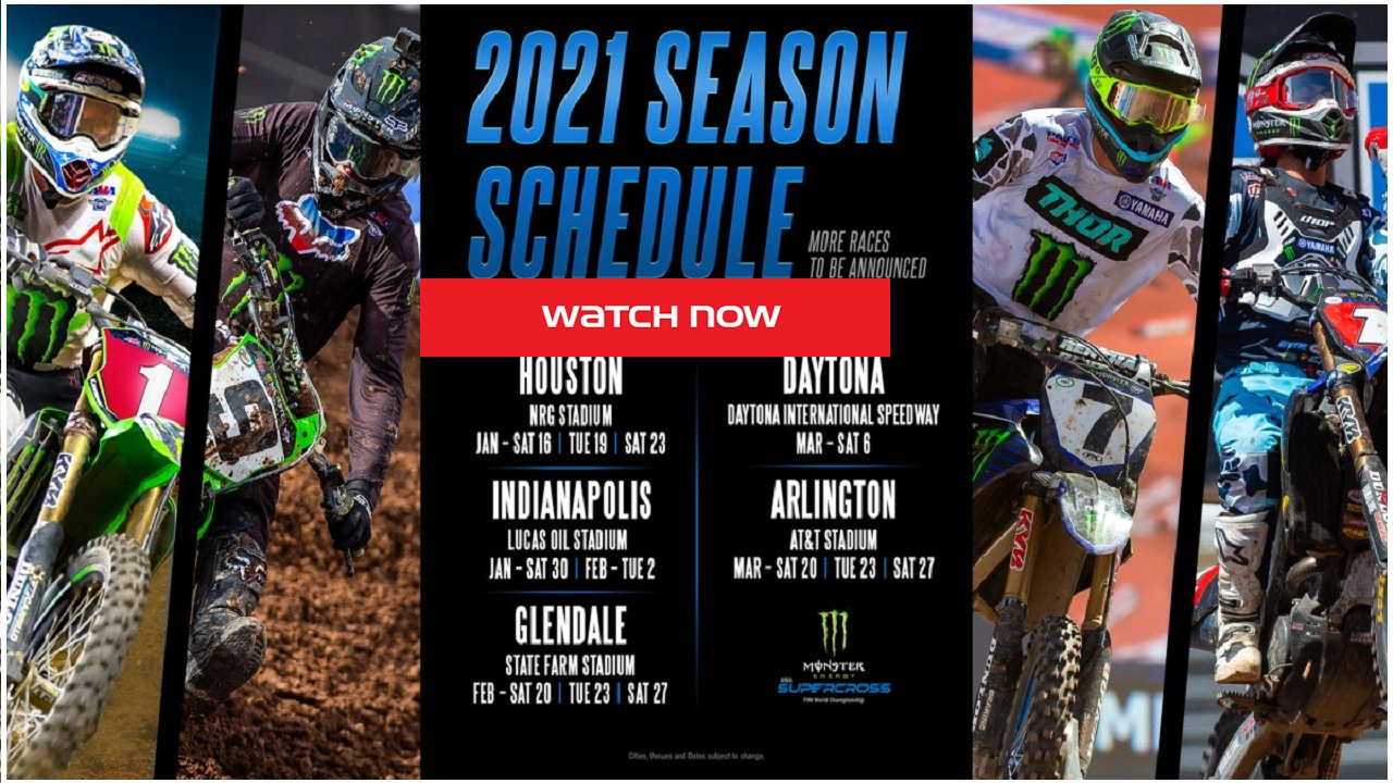 AMA Supercross is back. Find out how to live stream the racing event online and on Reddit for free.