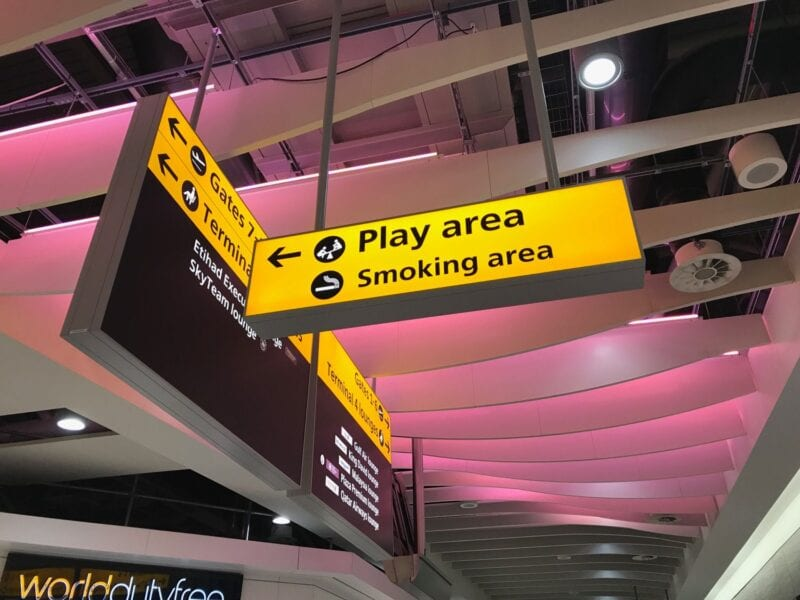 Airports can be strict. Find out whether there are airports that you will be able to vape in.