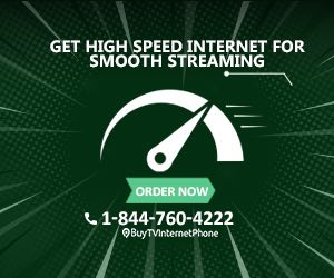 Get high speed internet for smooth streaming