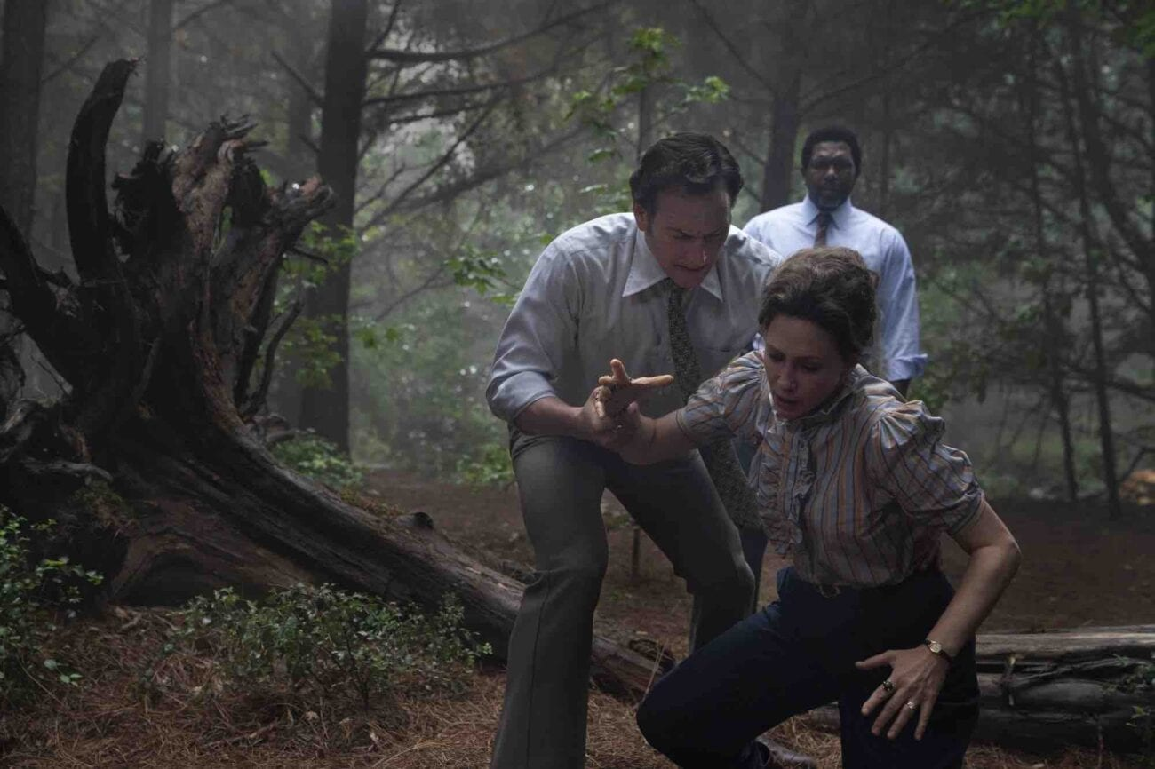 """'The Conjuring: The Devil Made Me Do It"""" released its first trailer today. Scream your way through the terrifying true story that inspired the film."""