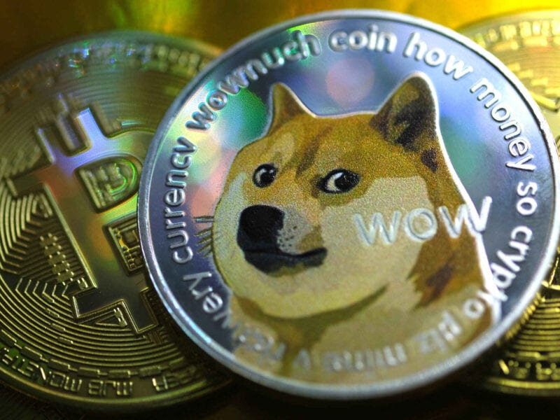 """The price of Dogecoin hit an all-time record high peak on April 20th, and folks have coined the term """"Doge Day"""". See how the internet celebrated here."""