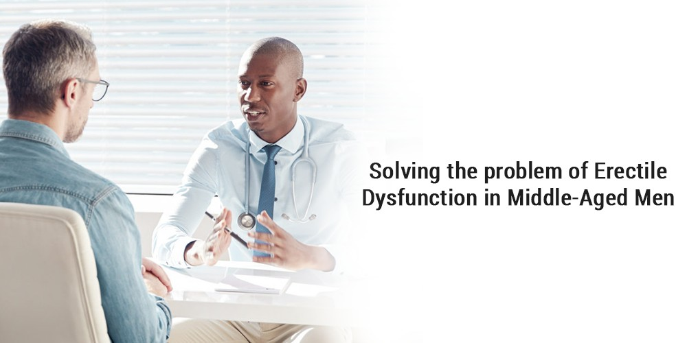 Erectile dysfunction is a common issue. Find out how to solve this problem as you enter middle age.